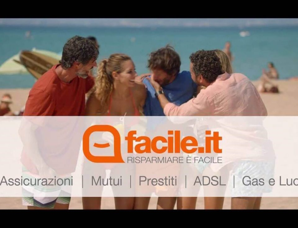 spot pubblicitario di facile.it